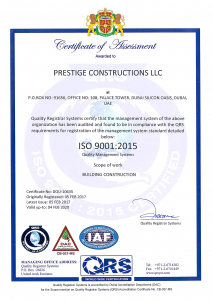 Construction companies in Ajman