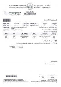 construction company in Sharjah
