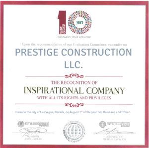 BIZZ Inspirational Company Awards