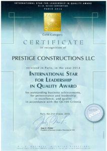 Building contractor in UAE