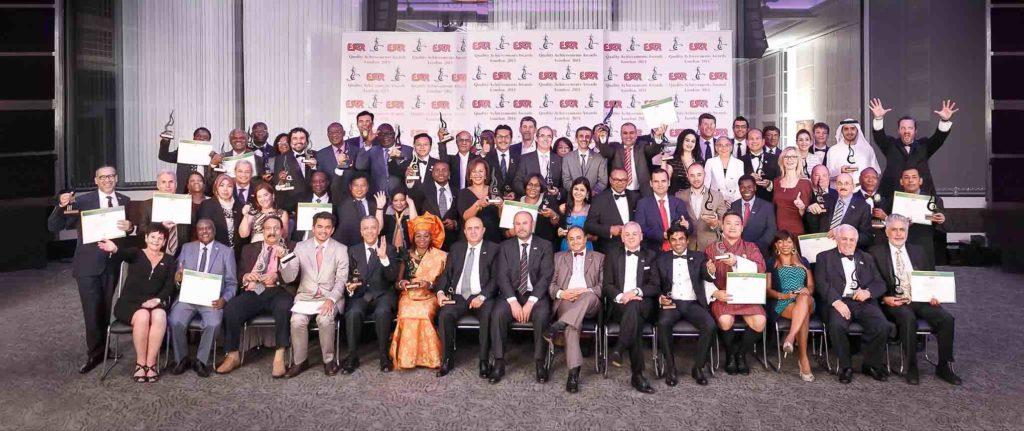 ESQR quality achievement Award - Best real estate builders in UAE
