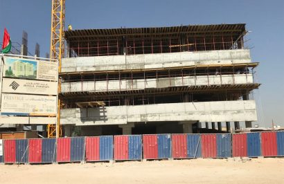 Residential building construction projects