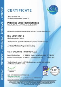Construction Companies in UAE